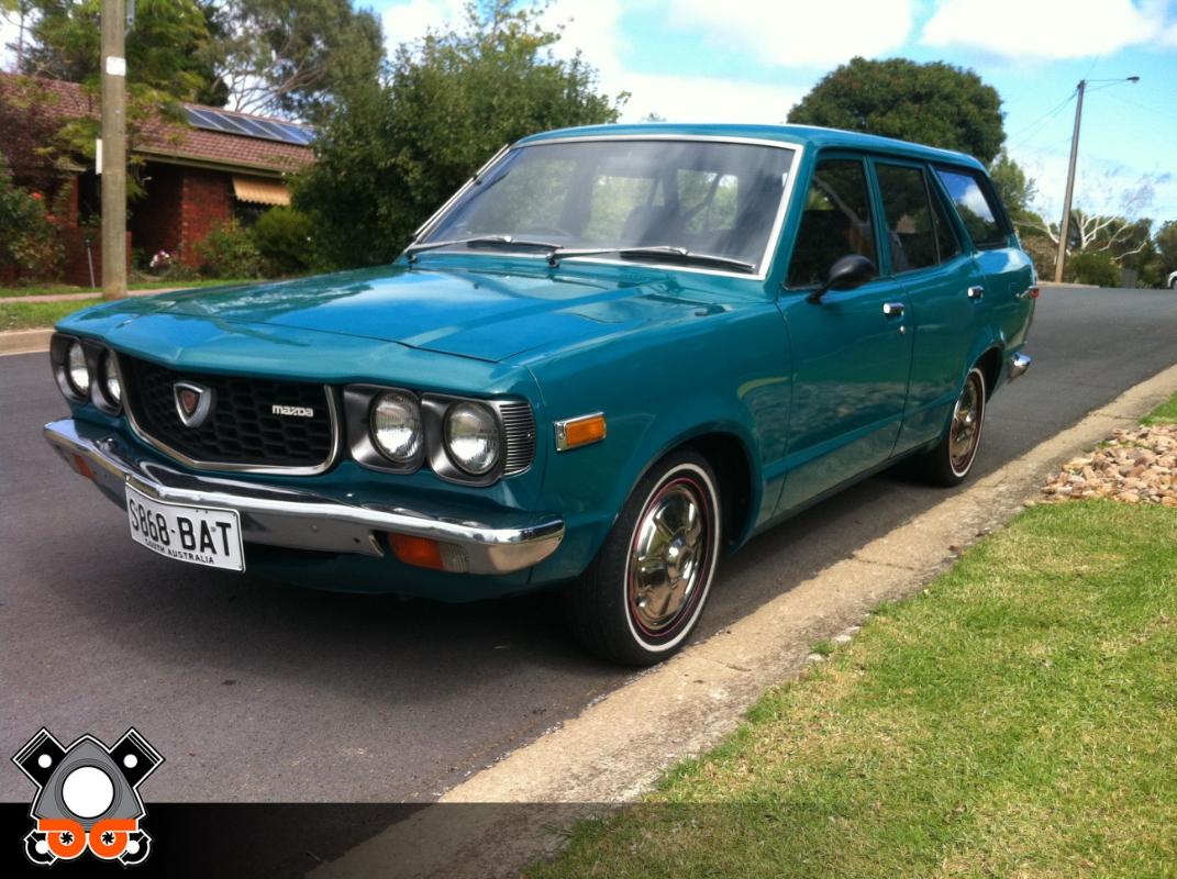 Auto For Sale For Sale: 1975 Mazda 808 Wagon