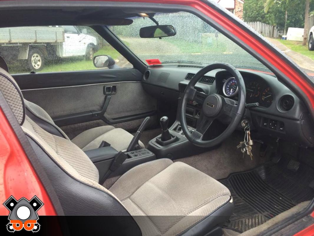 mazda rx7 1985 interior. 1985 mazda rx7 series mazda rx7 interior