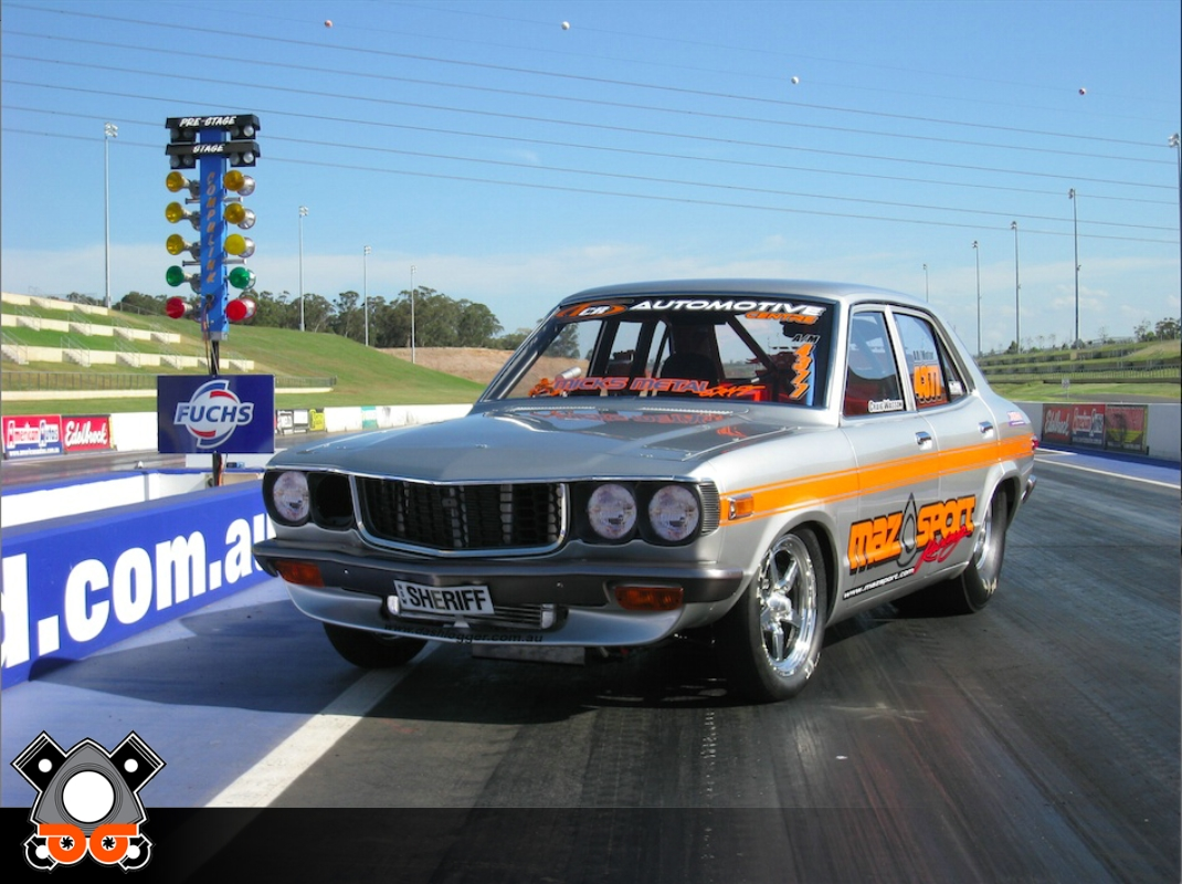 Mazda RX3 DRAG CAR